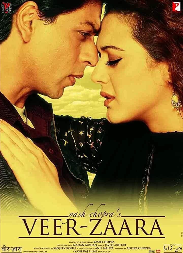 Download Veer Zaara (2004) Hindi Full Movie BluRay 480p | 720p | 1080p