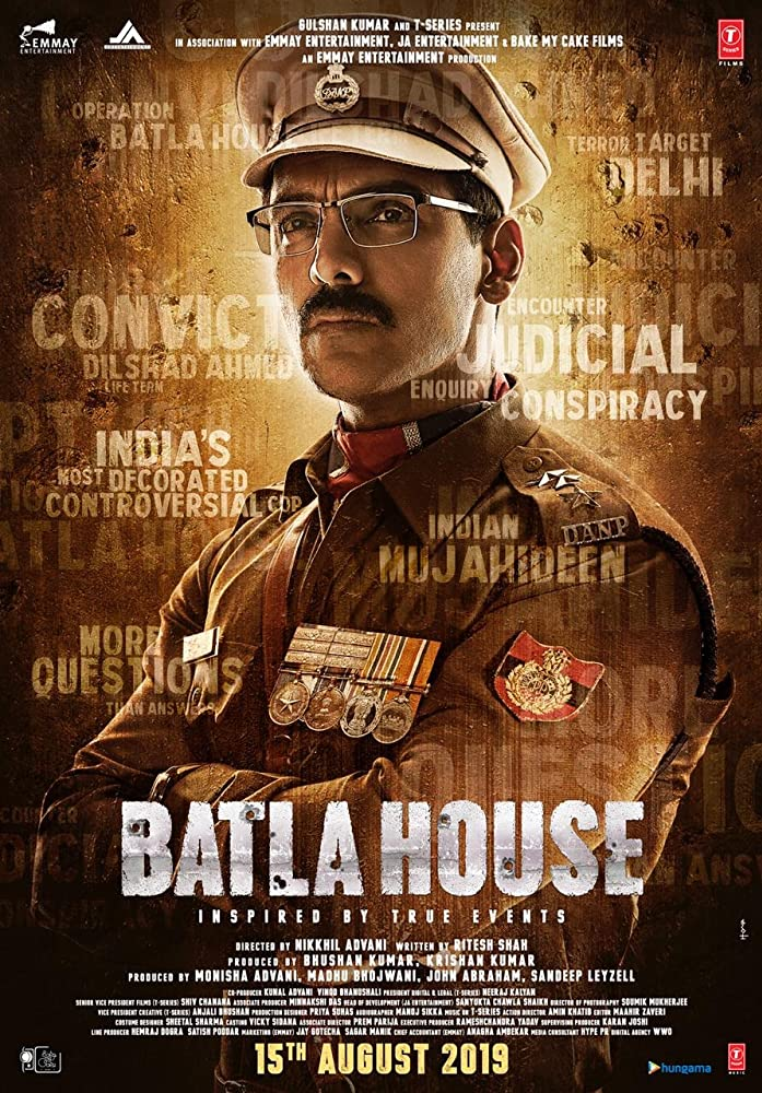 Upcoming Bollywood Movie Batla House Trailer, Release Date, Cast, Songs, Story