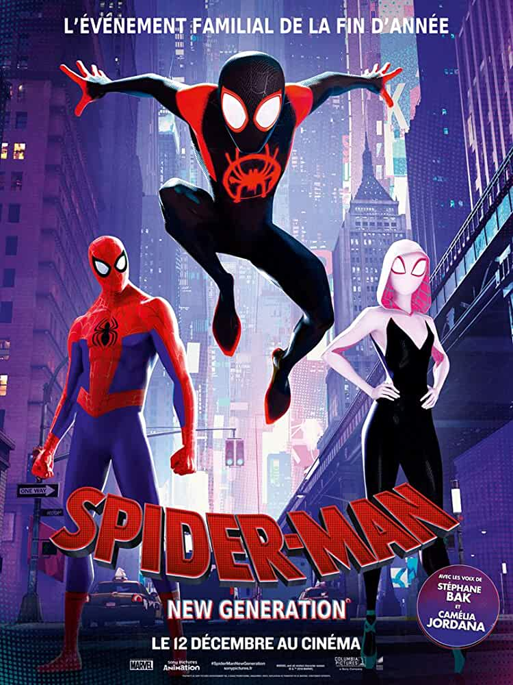 Spider-Man: Into the Spider-Verse (2018) (Hindi-English