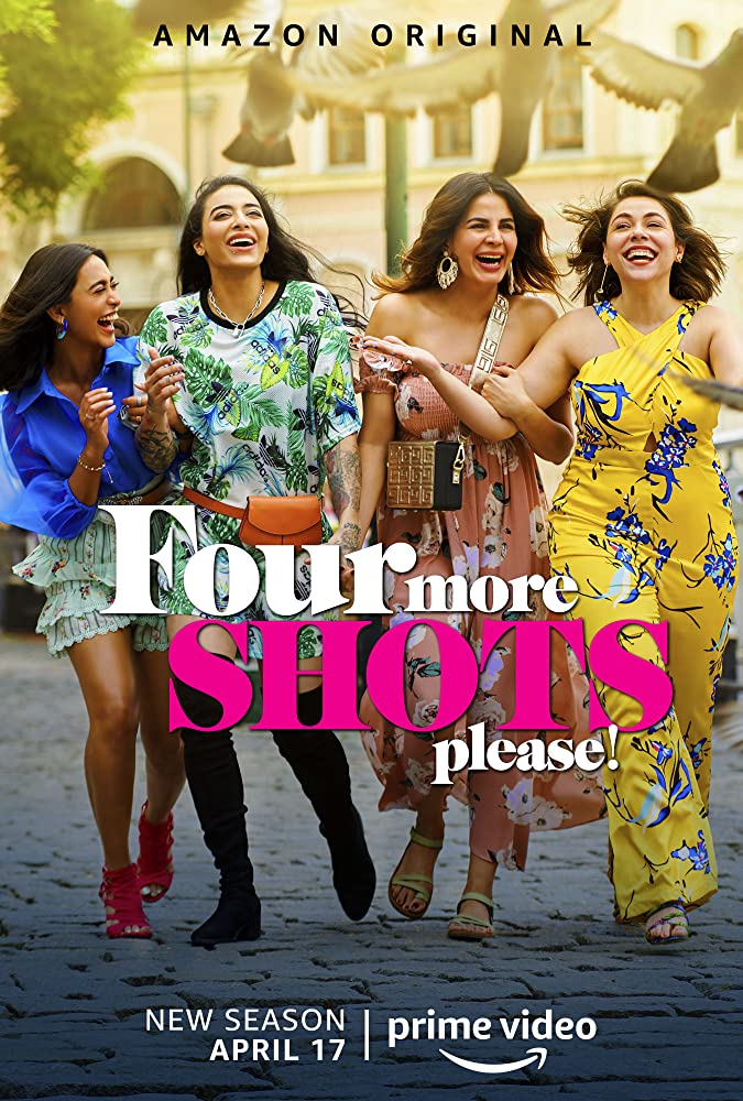 Four More Shots Please (2019–) Hindi Amazon WEB-DL - 720P - x265 - 5.5GB - Download & Watch Online Movie Poster - mlsbd