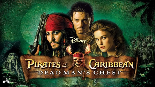 Johnny Depp in Disney Pirates of the Caribbean: Dead Man's Chest (2006)