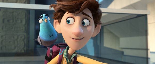 Will Smith and Tom Holland in Spies in Disguise (2019)