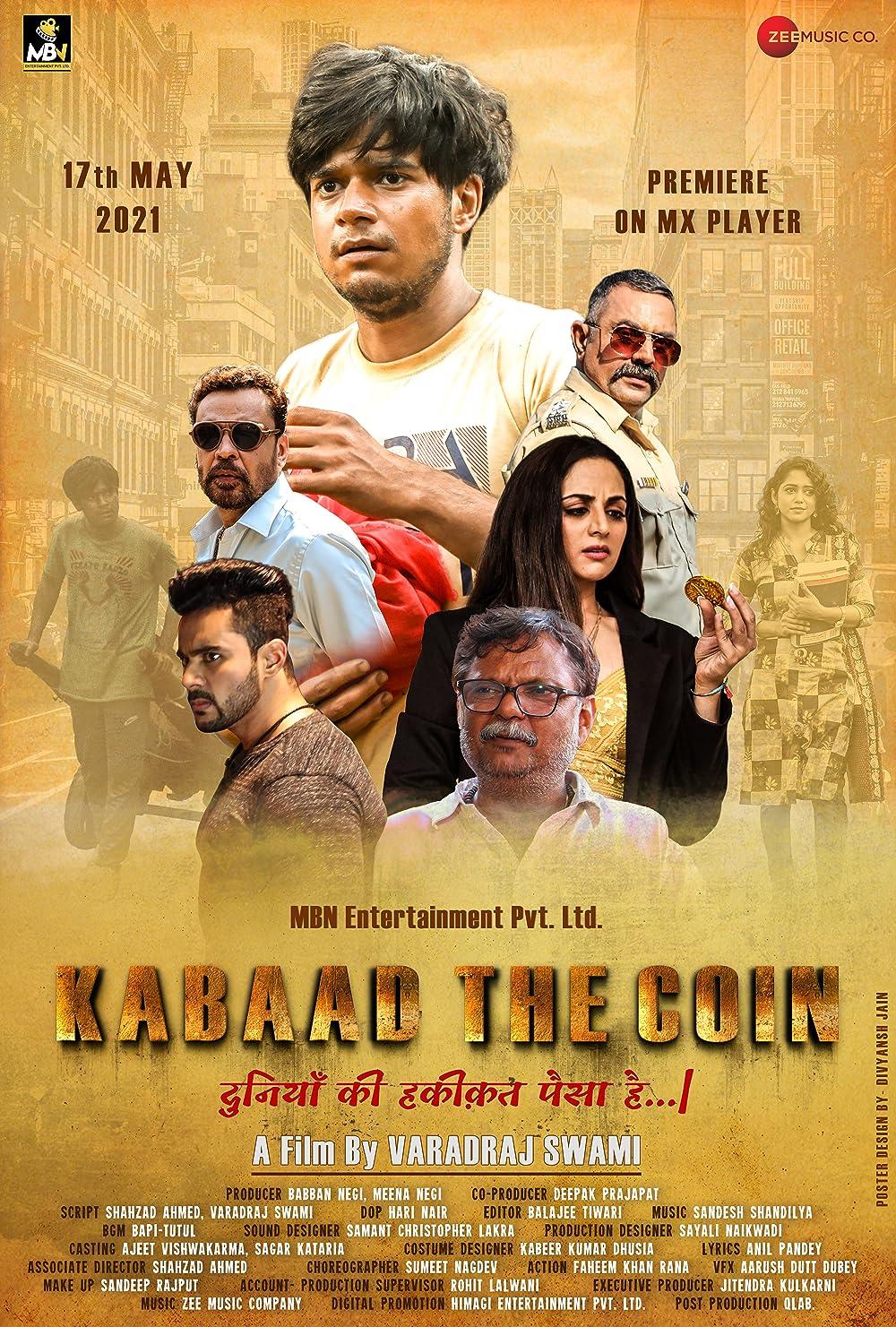 Kabaad The Coin 2021 Hindi Movie 720p HDRip 1.2GB | 415MB Download