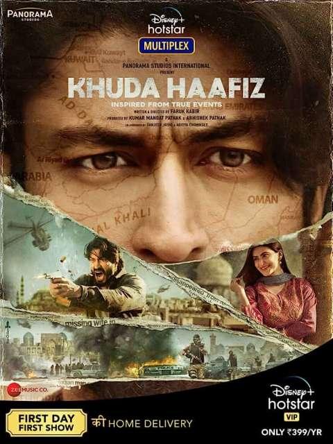 Download Khuda Haafiz (2020) Full Movie In Hindi WEB-DL 480p [550MB] | 720p [1.1GB] | 1080p [2.3GB]