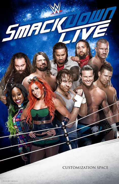 WWE Friday Night Smackdown (26th February 2021) English 720p HDRip 950MB | 270MB Download