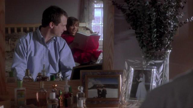 Bill Paxton and Bridget Fonda in A Simple Plan (1998)