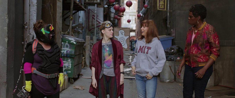 Leslie Jones, Kate McKinnon, and Kristen Wiig in Ghostbusters (2016)