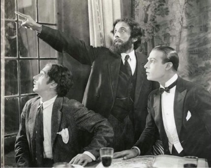 Josef Swickard and Rudolph Valentino in The Four Horsemen of the Apocalypse (1921)