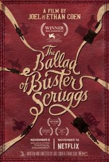 Resultado de imagem para a balada de buster scruggs poster