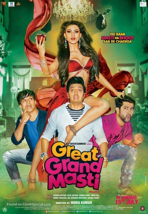 Download Great Grand Masti 2016 Hindi HDRip 480p | 720p