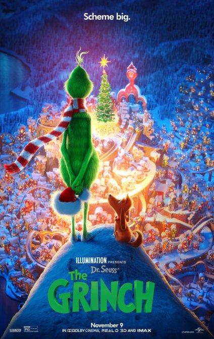 Image result for the Grinch movie graphic