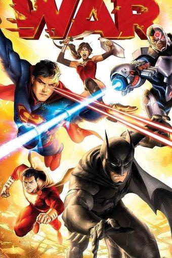 Liga da Justiça: Guerra Dublado Online