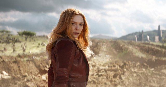Elizabeth Olsen in Avengers: Infinity War (2018)