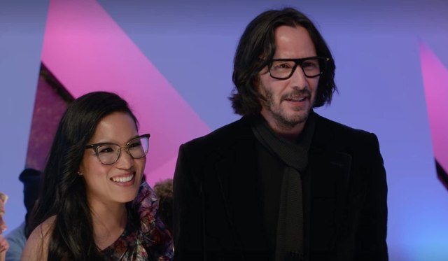 Keanu Reeves and Ali Wong in Always Be My Maybe (2019) Netflix Romantic Comedies
