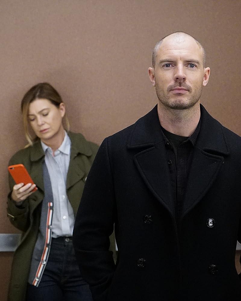 Ellen Pompeo and Richard Flood in Grey's Anatomy (2005)