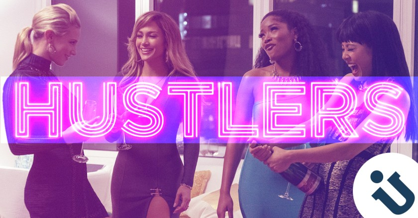 Jennifer Lopez, Keke Palmer, Constance Wu, and Lili Reinhart in Hustlers (2019)