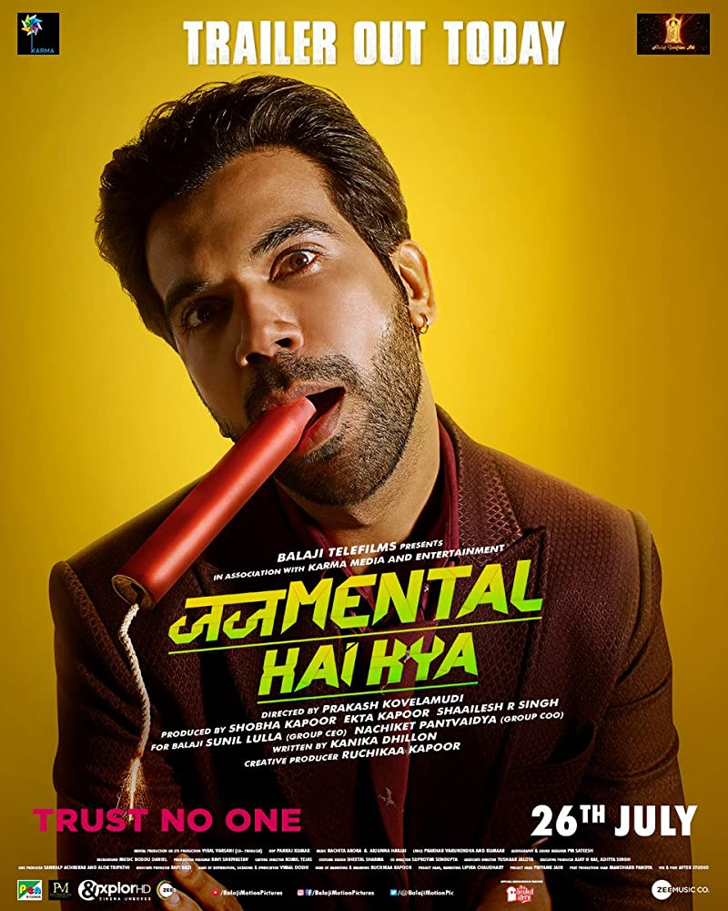 Upcoming Bollywood Movie Judgemental Hai Kya (2019) Star Cast, Release Date, Trailer, Songs, Story