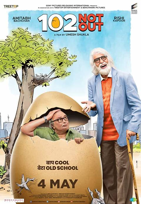 Download 102 Not Out (2018) Hindi Full Movie 480p [400MB] | 720p [1GB]