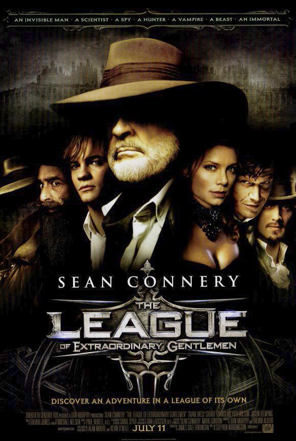 Sean Connery, Tony Curran, Naseeruddin Shah, Stuart Townsend, Shane West, and Peta Wilson in The League of Extraordinary Gentlemen (2003)