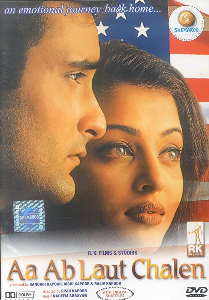 Aa ab Laut Chalen 1999 Hindi Movie JC WebRip 400mb 480p 1.5GB 720p 4GB 14GB 1080p