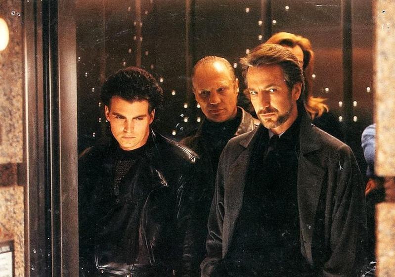 Alan Rickman and Wilhelm von Homburg in Die Hard (1988)