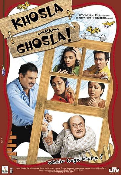 Khosla Ka Ghosla! (2006) Hindi Blu-Ray  720P  x264 1GB  Download