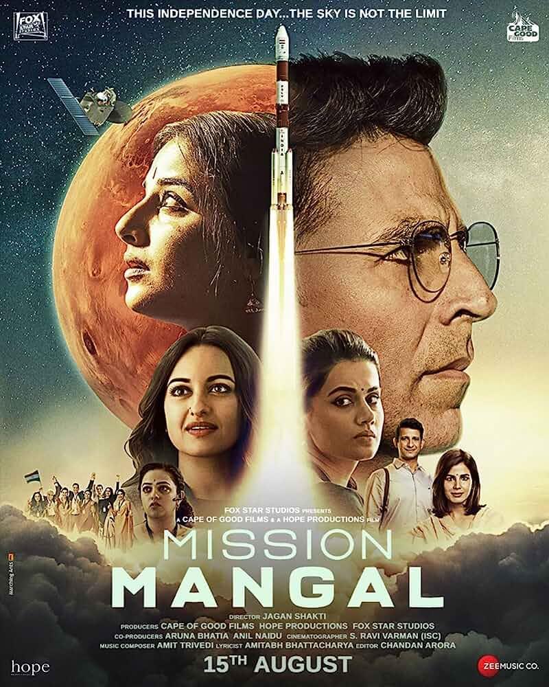 Download Mission Mangal 2019 Hindi 480p [450MB] | 720p [1GB] WEB-DL