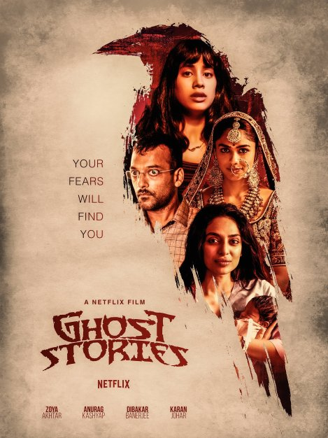 Ghost Stories (2020) Hindi NF 720p HDRip 700MB | 300MB Download