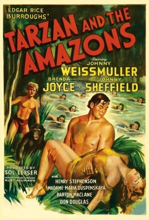 Tarzan e As Amazonas Dublado Online