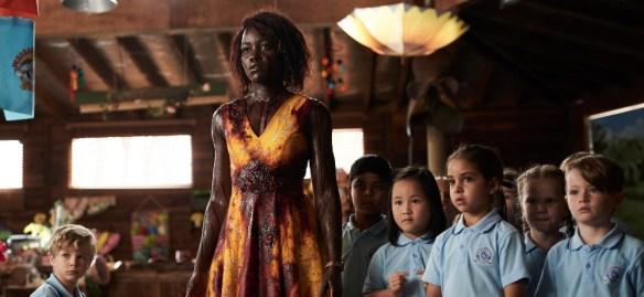 Lupita Nyong'o, Caliah Pinones, Vivienne Albany, and Diesel La Torraca in Little Monsters (2019)