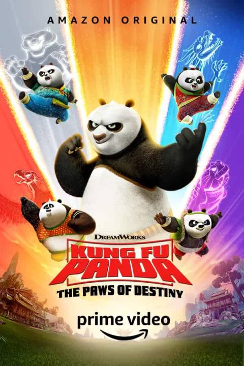 Download Kung Fu Panda: The Paws of Destiny Season 1 (Part 2 Added) All Episode Complete In Hindi-English (Dual Audio) Bluray 720p [150MB]