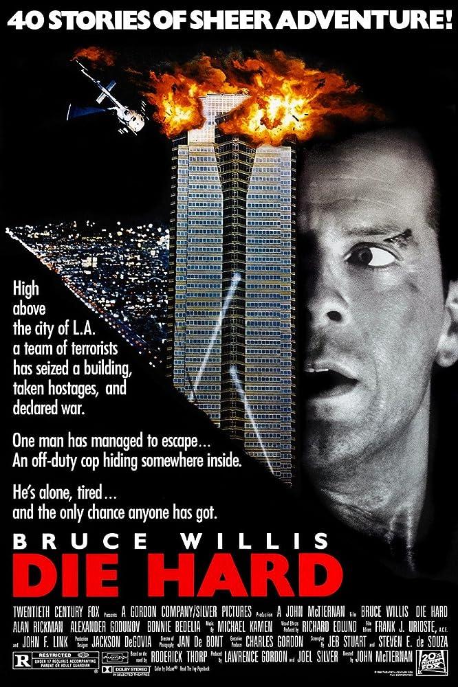 Bruce Willis in Die Hard (1988) - Christmas Movies