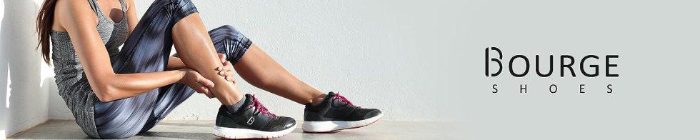 Bourge women stylish running shoes