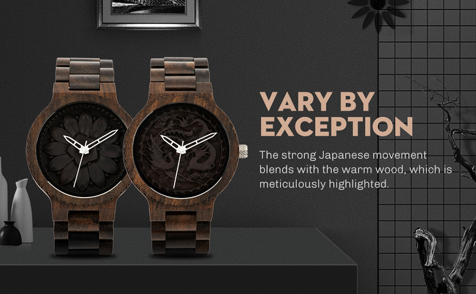 vary by exceptiom