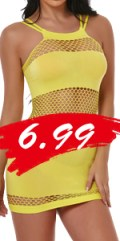 yellow lingerie