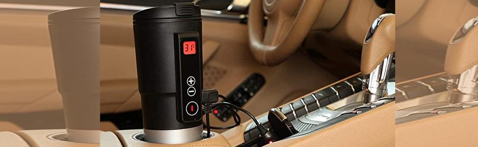 Smart Temperature Control Travel Coffee Mug