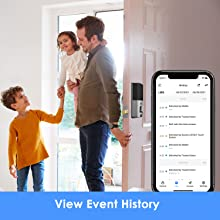 view event history