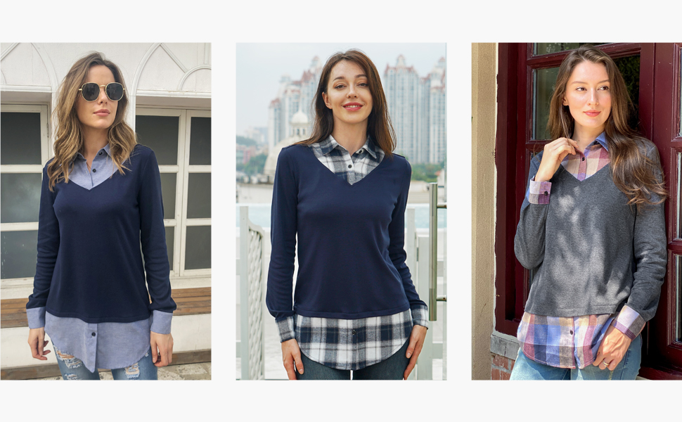 wear to work blouses for women