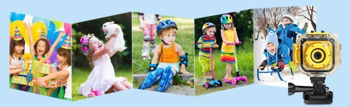Waterproof camera for children