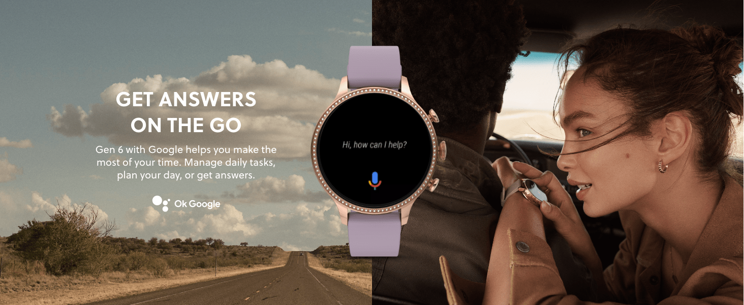 Fossil Gen 6 Smartwatch helps with tasks, planning and phone calls