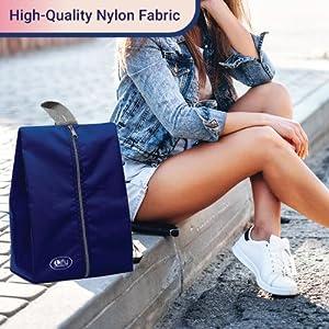 Made Using High-Quality Nylon Fabric