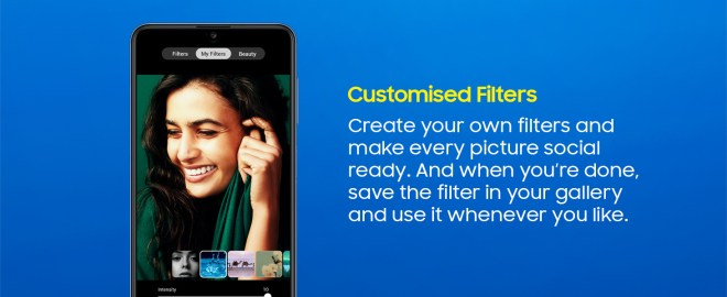 Customized filters