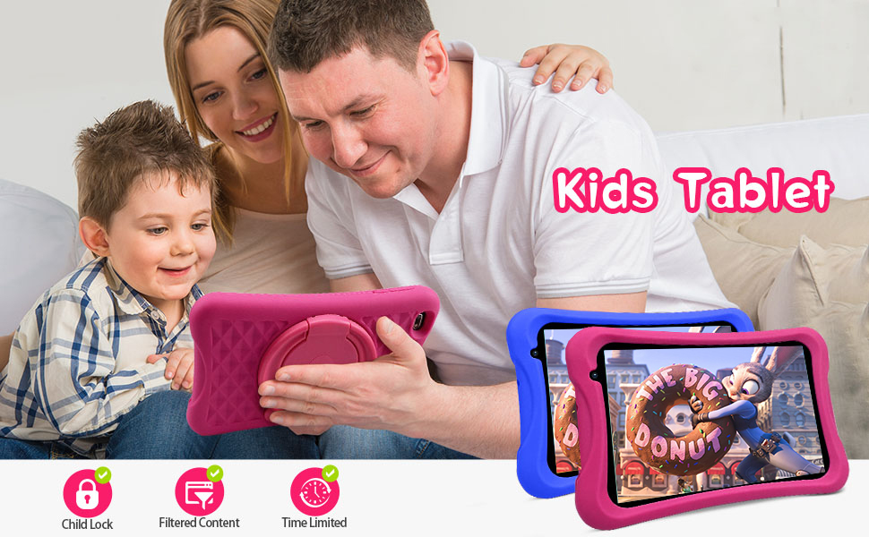 Tablet for kids with parental control