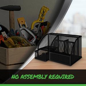 neaterize pen organizer for desk mesh pen holder desk organization and storage office items