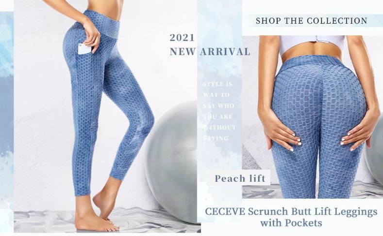CECEVE Butt Lift Leggings for Women