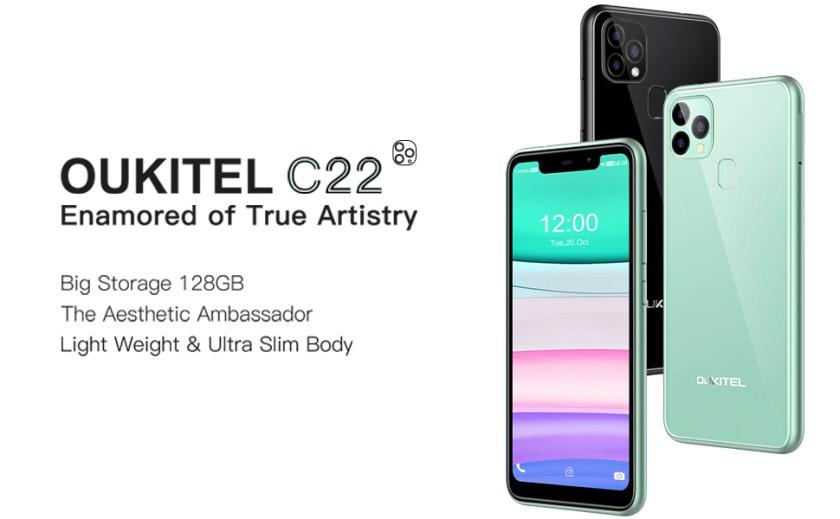 OUKITEL C22 First
