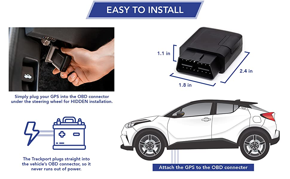 trackport, gps, tracker, OBD, vehicle, kids, safety, thieves, DIY, affordable