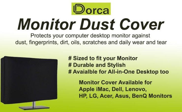 monitor dust cover desktop