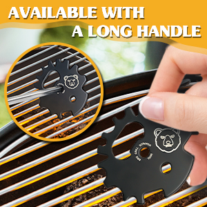 BBQ Grill Scraper Cleaner Tool