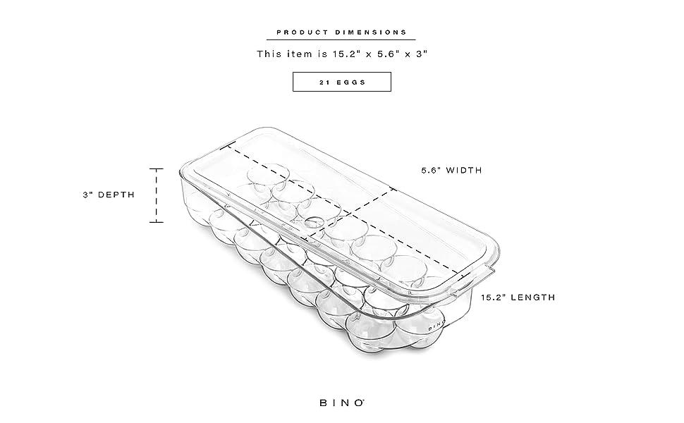Stackable Plastic Storage Bins Organizer Bins Pantry Organization Fridge Organizer Freezer Organizer